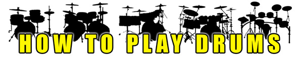 How To Play Drums Logo
